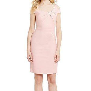 Antonio Melani pink cold shoulder dress